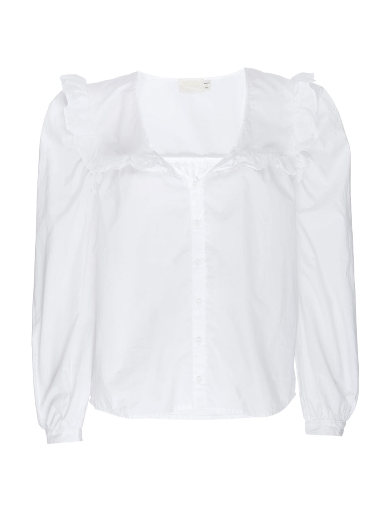 Nation LTD Tatiana Top in White