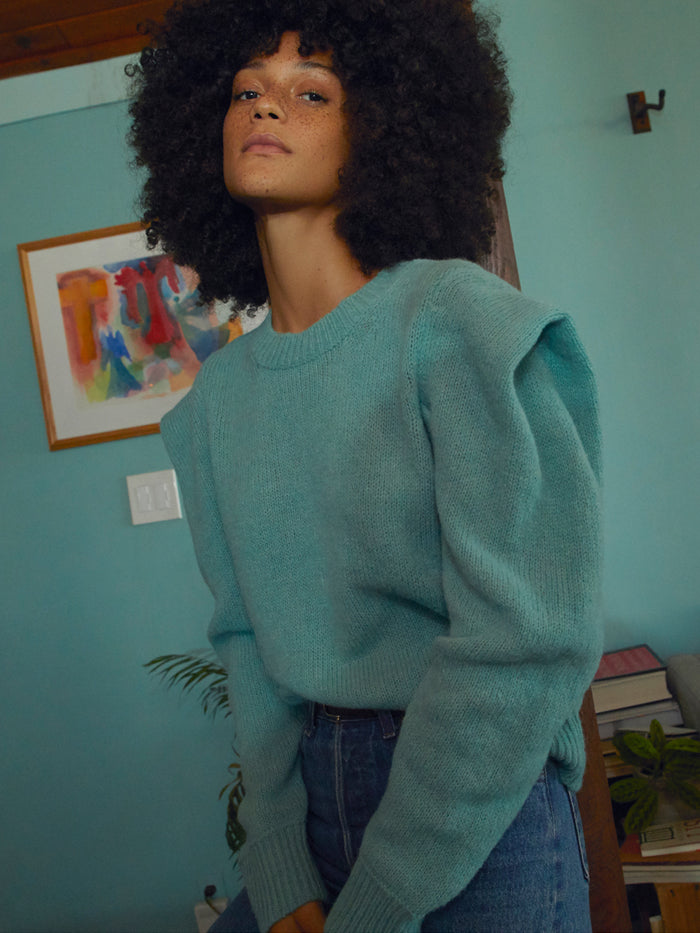 Nation LTD Vicki Sweater in Seafoam