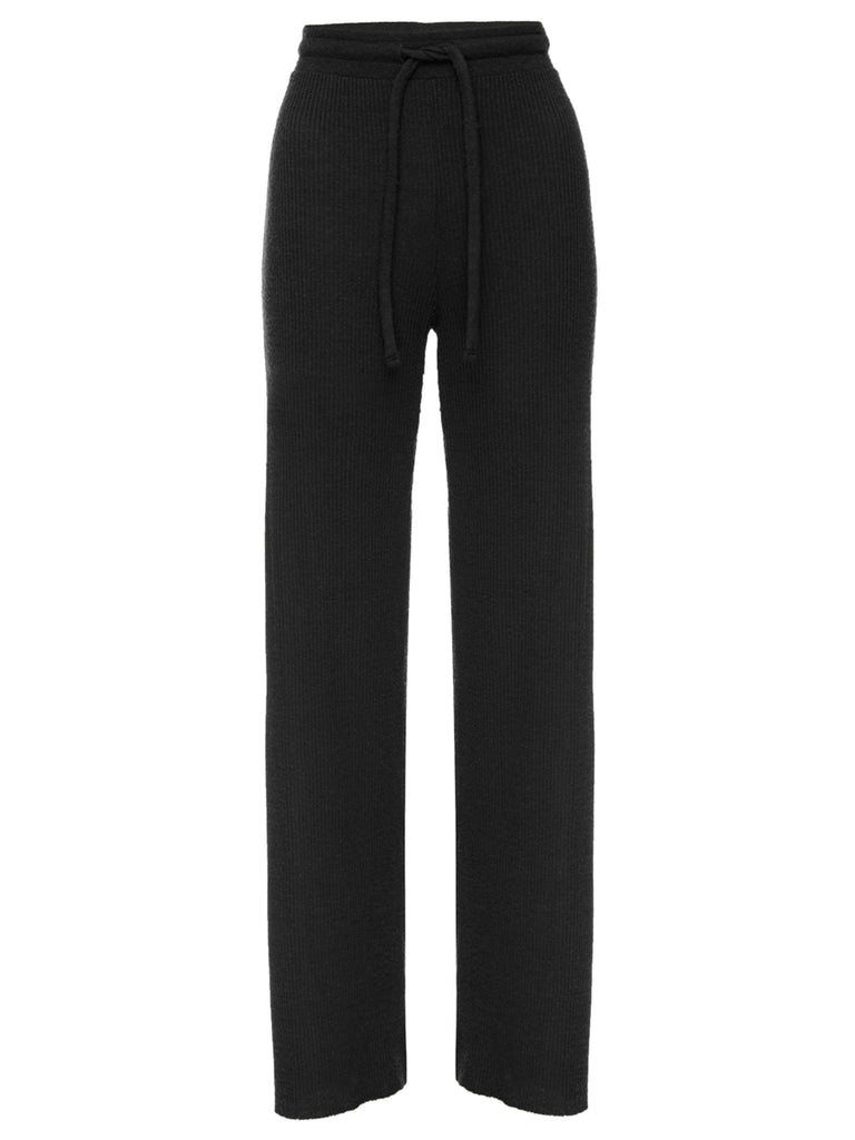 Nation LTD Westside Pant in Jet Black