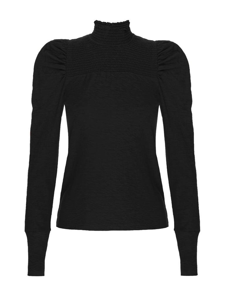Nation LTD Zahara Long Sleeve in Jet Black
