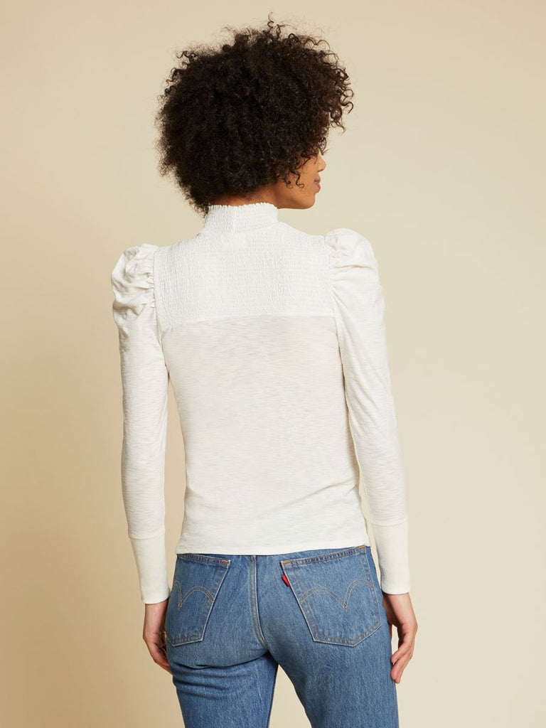 Nation LTD Zahara Long Sleeve in Off White