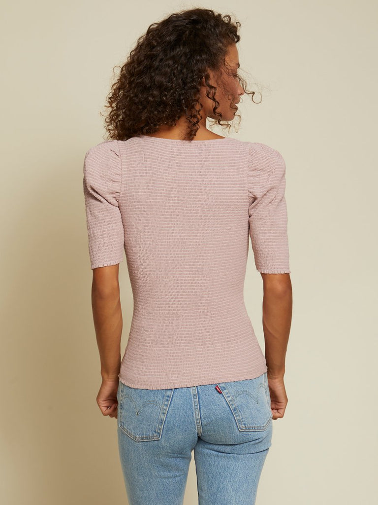 Nation LTD Zandra Tee in Touch of Pink