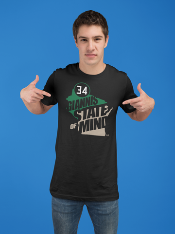GIANNIS STATE OF MIND 34, Unisex T