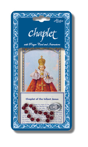 Infant of Prague Deluxe Chaplet
