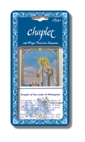 Our Lady of Medjugorge Deluxe Chaplet