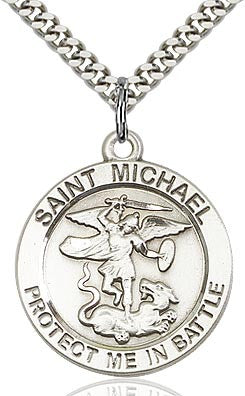 St. Michael Protect Me In Battle Medal
