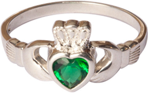 Claddagh with Emerald Ring
