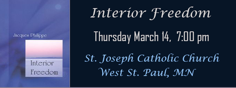 Fr. Jacques Philippe March 14 7:00 PM