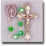 Birthstone Rosary- August