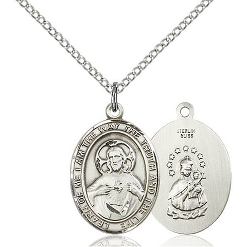 "Scapular Pendant with 18"" Chain"