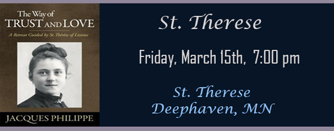 Fr. Jacques Philippe March 15 7:00 PM