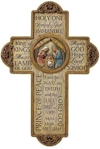Jesus' Name Wall Cross