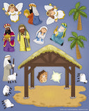 Make Your Own Nativity Sticker Sheets