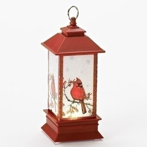 LED Cardinal Lantern Ornament