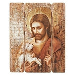 Jesus with Lamb Panel 26""