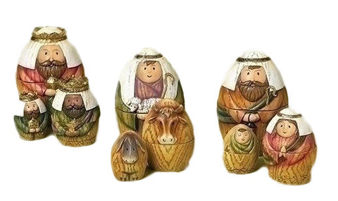 Nativity Nesting Box Set