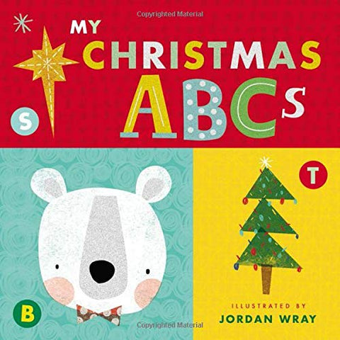 My Christmas ABCs Board Book