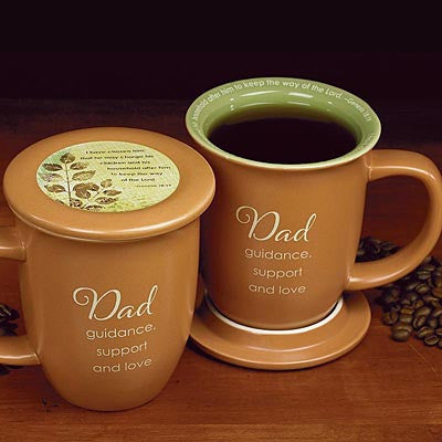 Dad Mug and Coaster Set