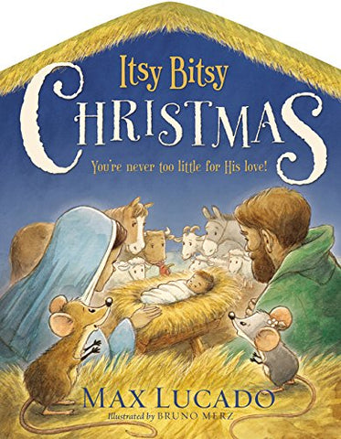 Itsy Bitsy Christmas, Board Book