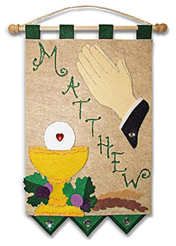 First Communion Banner Kit - Praying Hands