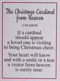 The Christmas Cardinal from Heaven Charm