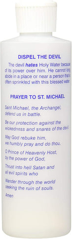 Holy Water Bottle St. Michael OR St. Benedict