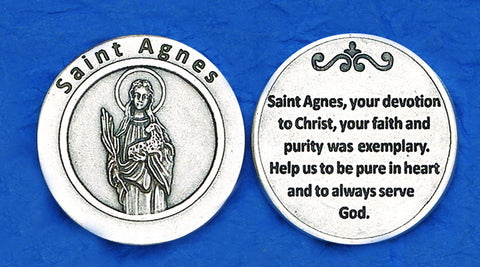 St. Agnes Pocket Token