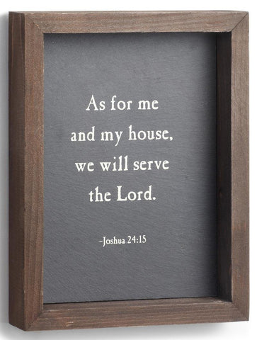 We Will Serve The Lord Wall Art
