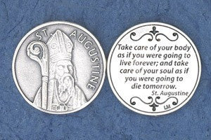 St. Augustine Pocket Token