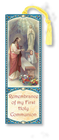 First Communion Bookmark- Girl