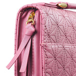 Grace Dusty Rose Pink Faux Leather Bible Cover