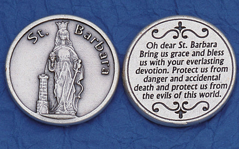 St. Barbara Pocket Token