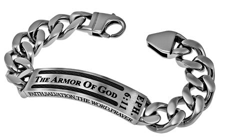 "Cable Bracelet ""Armor Of God"""
