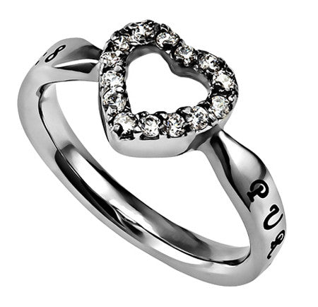 "Open Heart Ring ""Purity"""