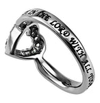 "Open Heart Ring ""Trust"""