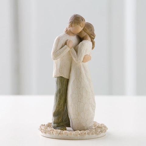 Cake Topper - Willow Tree Promise