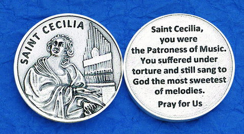 St. Cecilia Pocket Token