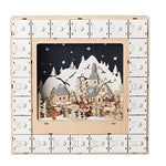 Light Up Countdown Mini Drawer Advent Calender