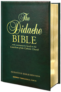 The Didache Bible (RSV-2CE) Padded Leather