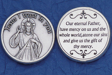 Divine Mercy Pocket Token