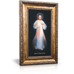 Divine Mercy Framed Canvas 9.5 x 14.5