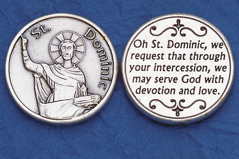 St. Dominic Pocket Token