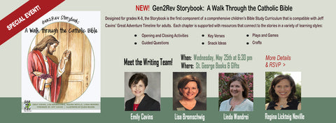Gen2Rev Meet the Writers Event -- 5/25/16 @ 6:30pm