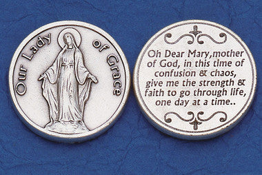 Lady of Grace Pocket Token