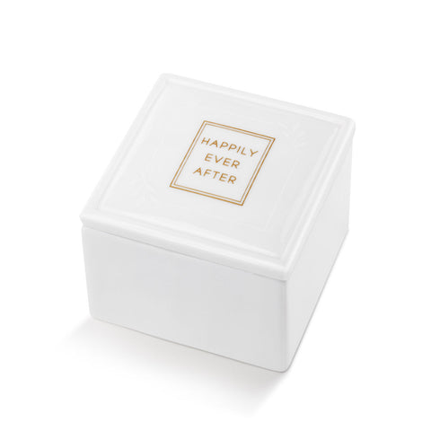 Happily Ever After Ceramic Keepsake Box