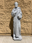 St. Francis Cement Statue 21""