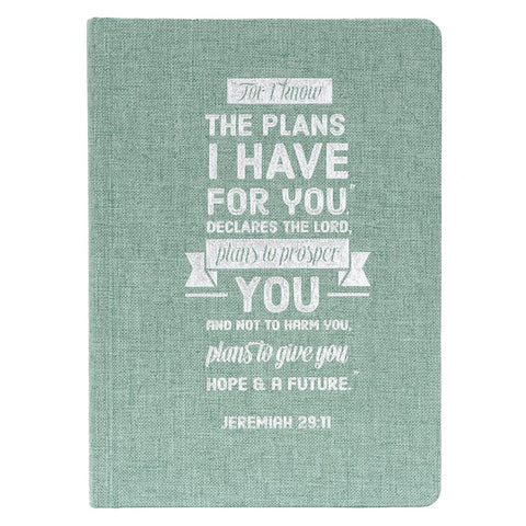 I Know the Plans Hardcover Journal