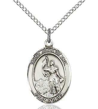 St. Joan of Arc Oval Medal