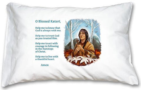 St. Kateri Prayer Pillowcase