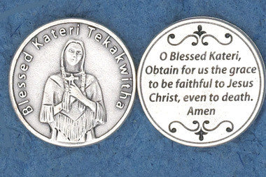 Blessed Kateri Pocket Token